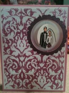 mini-Ann or wedd card front