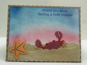 Get Well crabbie